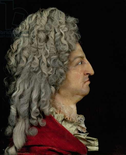 Louis XIV (1638-1715) 1706 (mixed media)