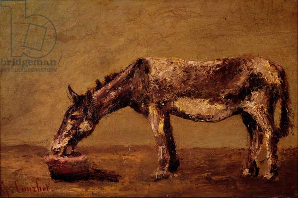 The Donkey (oil on canvas)