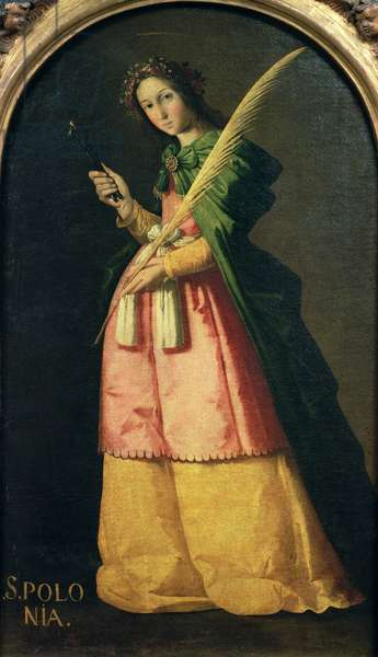 St. Apollonia, c.1636 (oil on canvas)