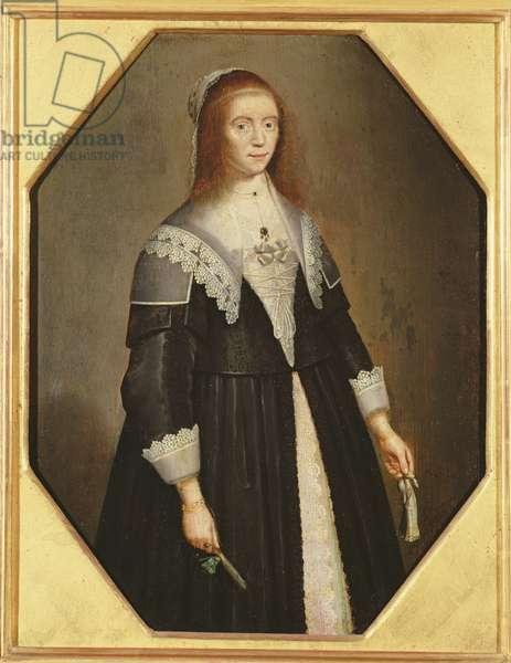 Portrait of a Woman, c.1640 (oil on panel)