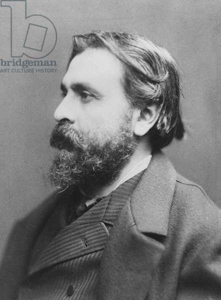 Portrait of Félix Gras (b/w photo)
