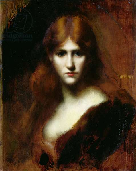 Portrait of a Woman (oil on canvas)