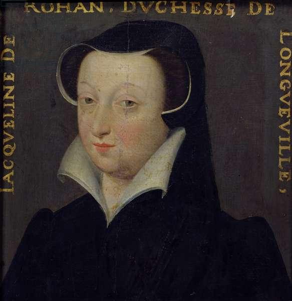 Jacqueline de Rohan (1520-86), Duchesse de Longueville (oil on panel)