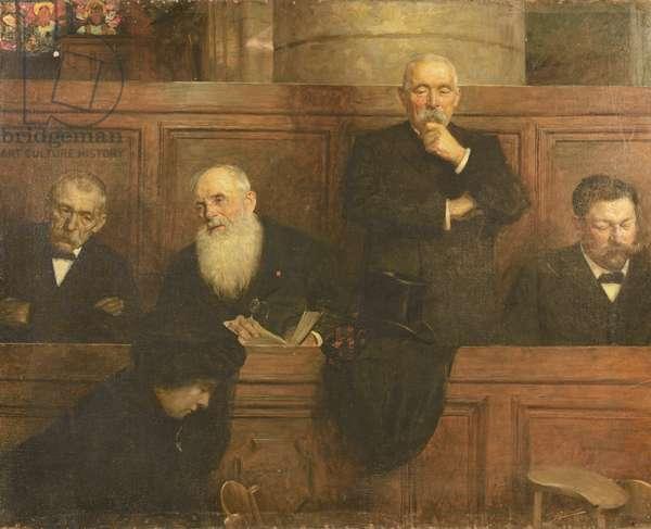 The Churchwardens (oil on canvas)