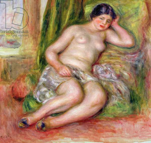 Sleeping Odalisque, or Odalisque in Turkish Slippers, c.1915-17 (oil on canvas)
