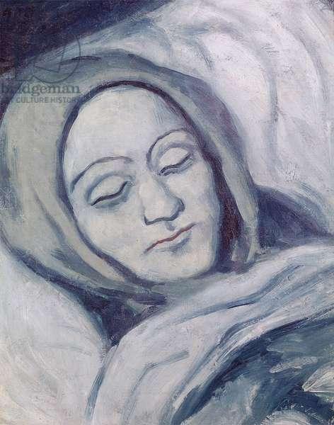 The Dead Woman, 1903 (oil on canvas)