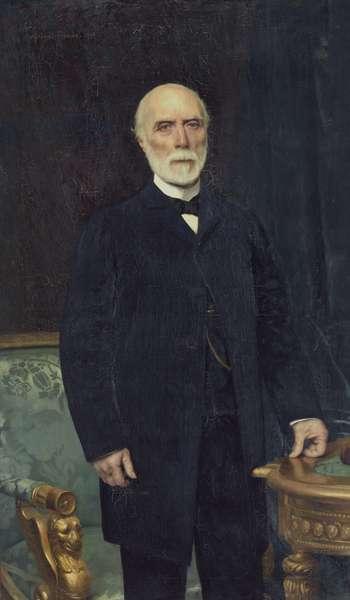 Charles-Louis de Saulces de Freycinet (1828-1923) 1894 (oil on canvas)