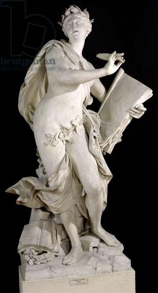 Lyrical Poetry, 1752 (marble)
