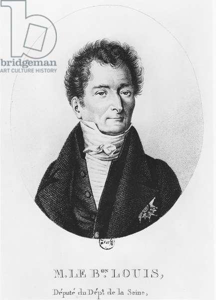 Baron Joseph Dominique Louis (engraving)