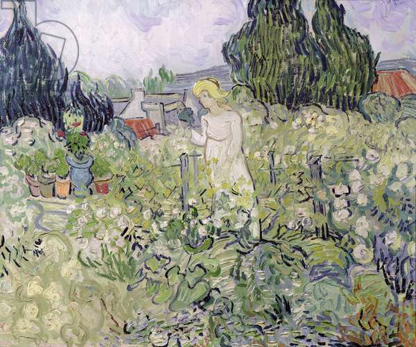 Mademoiselle Gachet in her garden at Auvers-sur-Oise, 1890 (oil on canvas)