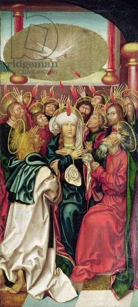 Bugnon Altarpiece: Pentecost, c.1507 (oil on panel)