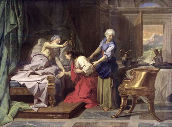 Isaac Blessing Jacob, 1692 (oil on canvas)