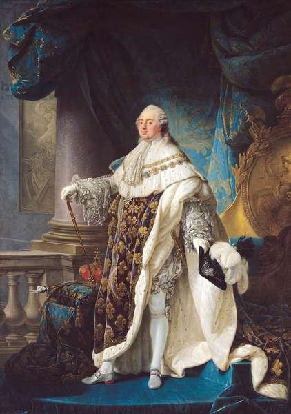 Louis XVI (1754-93) (oil on canvas)