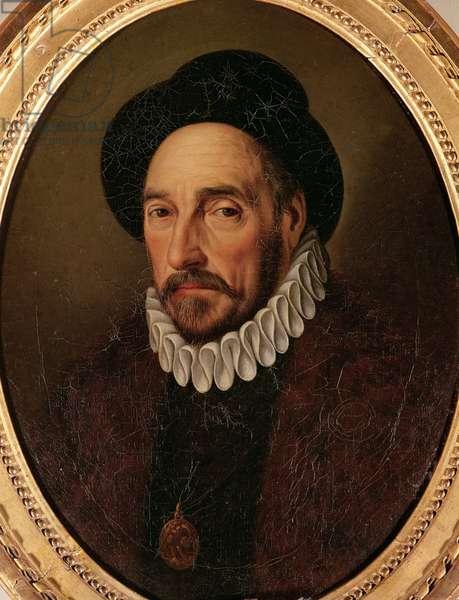 Portrait of Michel Eyquem de Montaigne (1533-92) (oil on canvas)