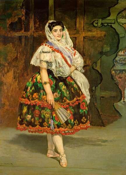 Lola de Valence, 1862 (oil on canvas)