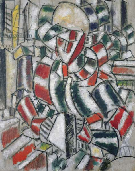 Woman in Red and Green, 1914 (oil on canvas)