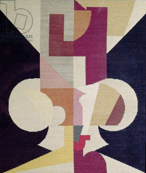 Moving Symmetry, c.1916 (textile)