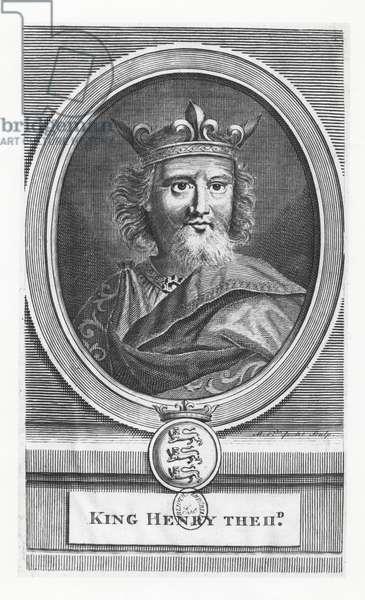 Henry II, King of England (engraving)