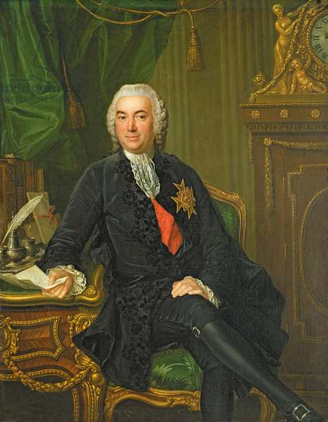Joseph-Francois Foulon (1715-89) after 1760 (oil on canvas)