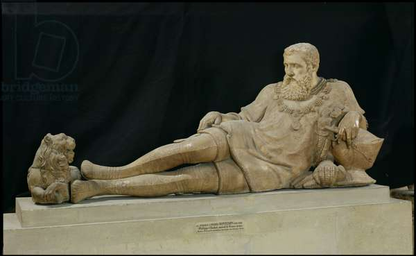 Effigy of Philippe de Chabot (1480-1543) Admiral of France, c.1570 (marble)