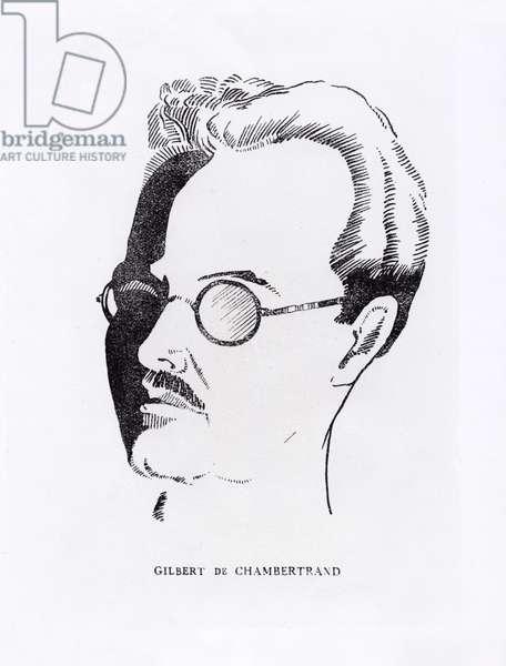 Gilbert de Chambertrand (litho)