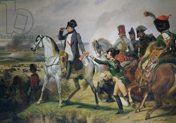 The Battle of Wagram, 6th July 1809, 1836 (oil on canvas)