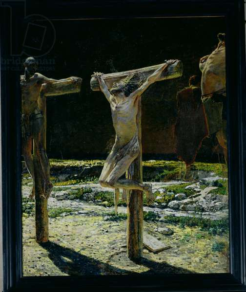The Crucifixion, or Golgotha, 1893 (oil on canvas)