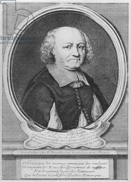 Pierre d'Hozier (engraving)