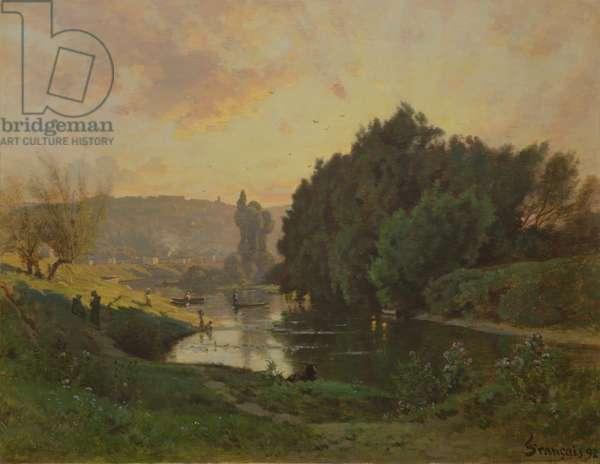 Scene of Bas-Meudon, 1892 (oil on canvas)