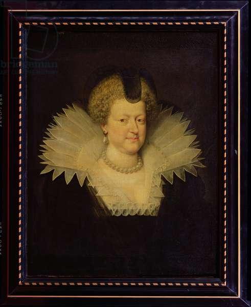 Marie de Medici (1573-1642) (oil on canvas)