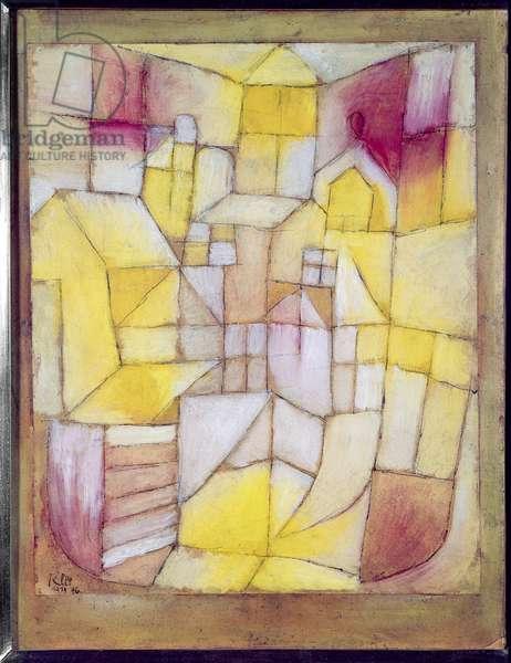 Rose-Jaune, 1919 (oil on paper)