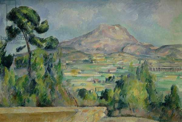 Montagne Sainte-Victoire, c.1887-90 (oil on canvas)