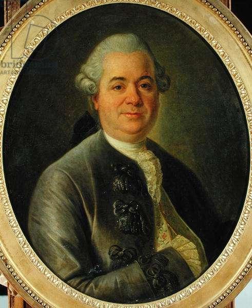 Jean Gravier (1718-94) Marquis de Vergennes (oil on canvas)