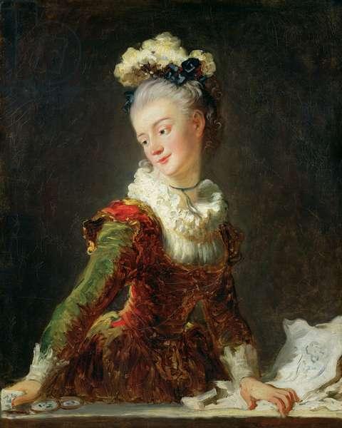 Marie-Madeleine Guimard (1743-1816) (oil on canvas)