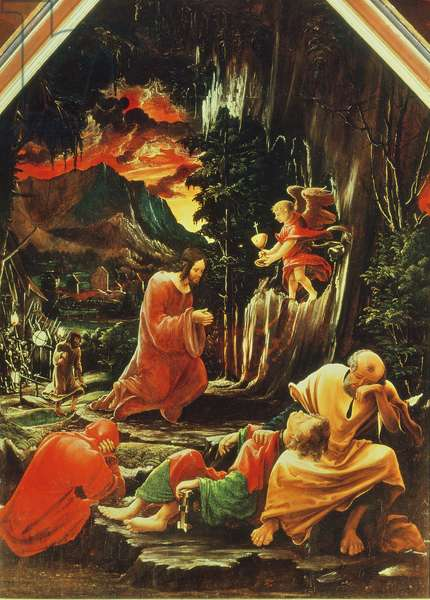 The Agony in the Garden, from the St. Florian Altarpiece, c.1515 (oil on panel)