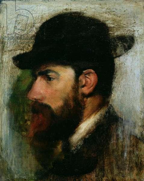 Portrait of Henri Rouart (1833-1912) 1871 (oil on canvas)