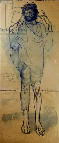 The Madman, 1904 (w/c on paper)