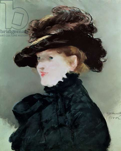 Portrait of Mery Laurent (1849-1900) 1882 (pastel on paper)