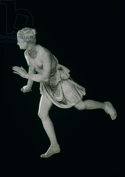 Atalanta, 3rd-2nd century BC (marble), female athlete in Greek mythology