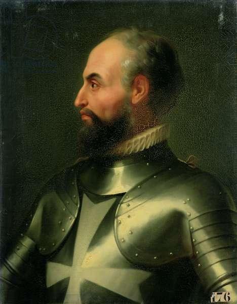 Jean de la Valette (1494-1568) Grand Master of the Knights of the Order of Malta (oil on canvas)