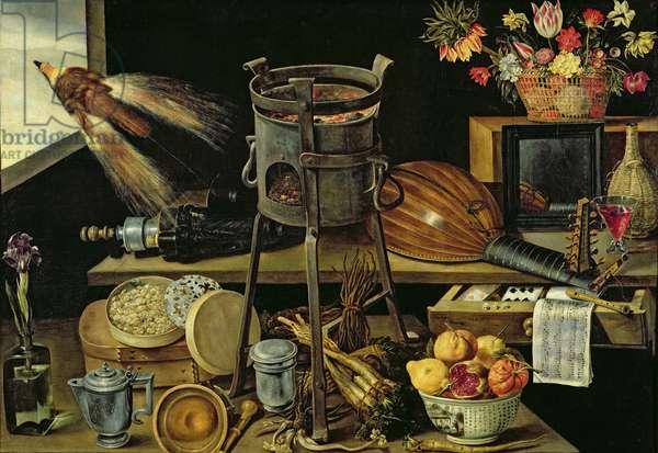The Five Senses, 1638 (oil on canvas)
