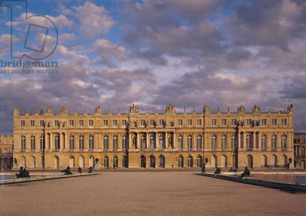 The Garden Facade of the central body of the chateau, 1668-84 (photo)