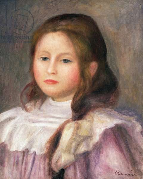 Portrait of a child, c.1910-12 (oil on canvas)