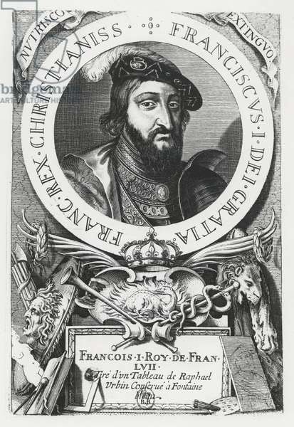 Francis I of France (engraving)