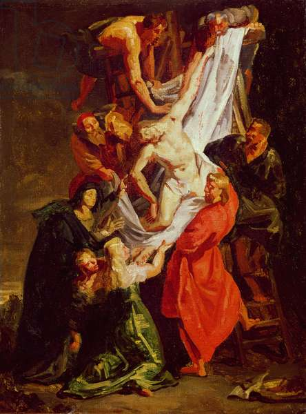The Descent from the Cross, c.1843