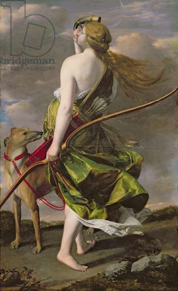 Diana the Hunter, c.1624-25 (oil on canvas)