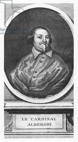 Cardinal Alberoni (engraving)