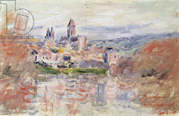 The Village of Vetheuil, c.1881 (oil on canvas)