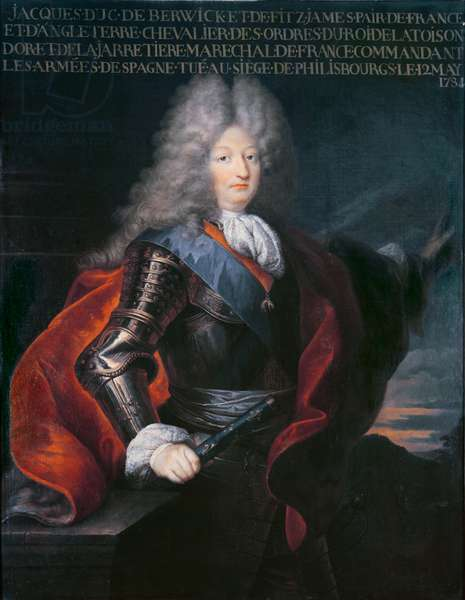 James Stuart Fitzjames (1670-1734) 1st Duke of Berwick (oil on canvas)
