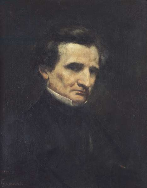 Hector Berlioz (1803-69) 1850 (oil on canvas)